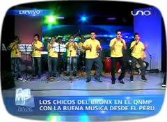 Orquestas bolivianas LOS CHICOS DEL BRONX (del Perú)